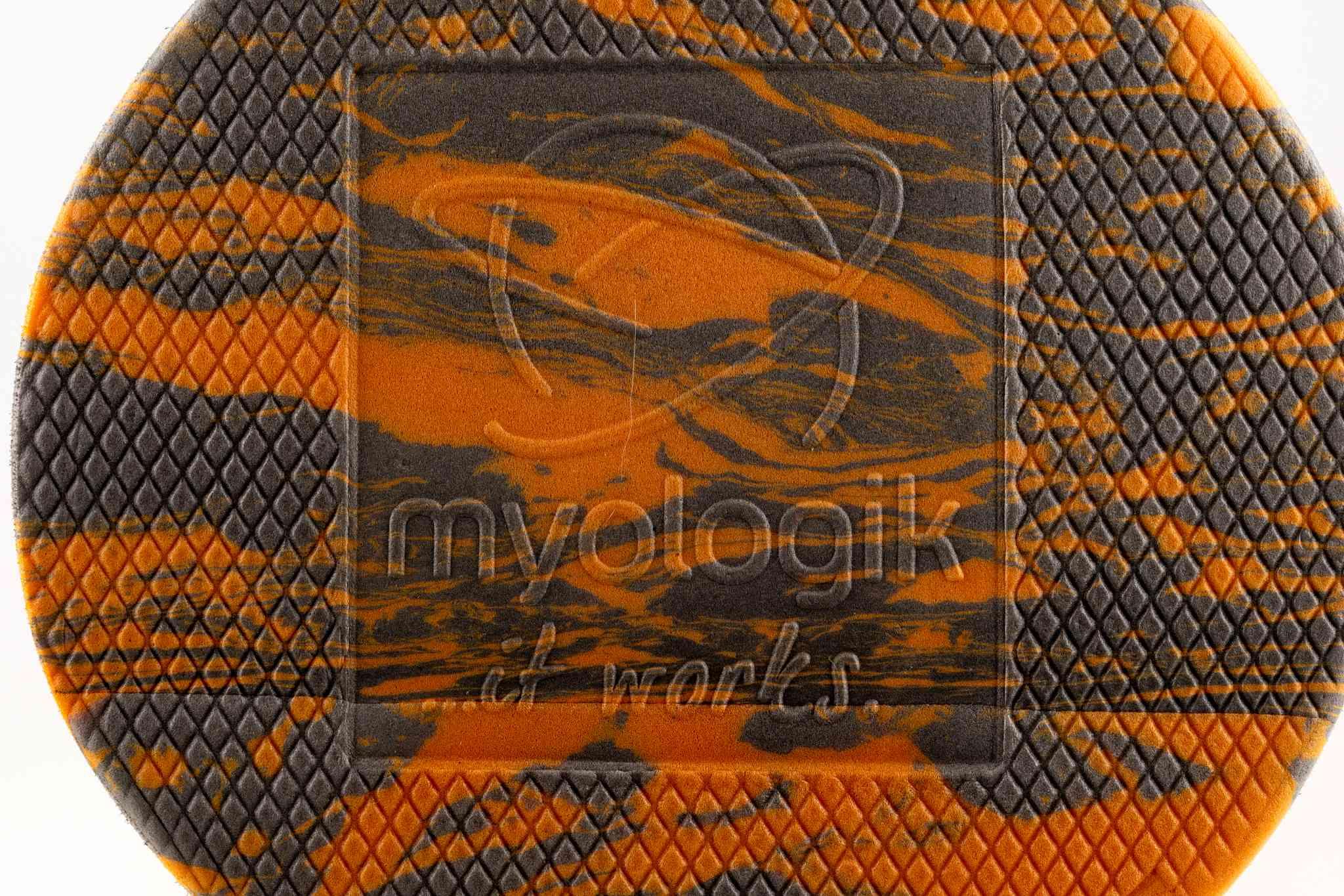 Faszienrolle MATRIX orange-grau